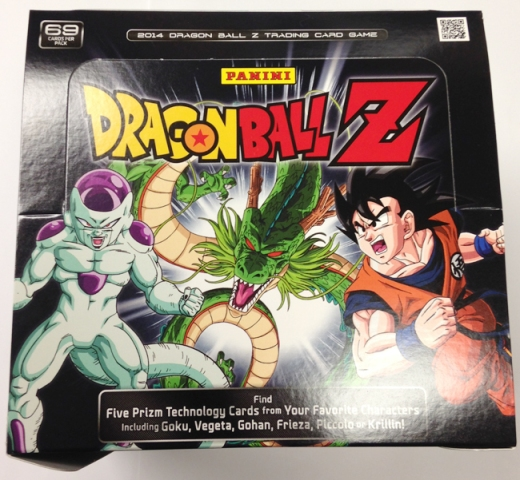 Panini America 2014 Dragon Ball Z Packaging (1)