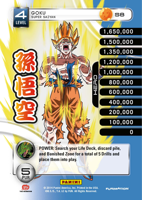 Premiere Dragon Ball Z DBZ TCG Panini Promo P2 Goku Protector of Earth