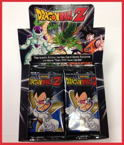 Panini America 2014 Dragon Ball Z TCG Booster Box Teaser (2)