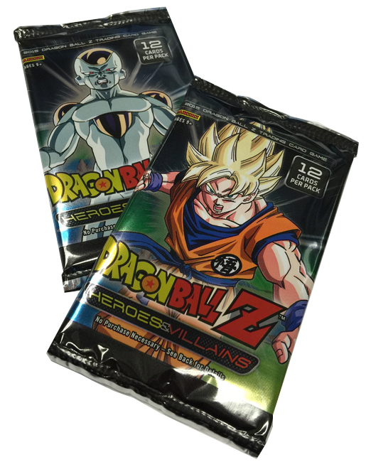 Panini America 2015 Dragon Ball Z Heroes & Villains Teaser (3)