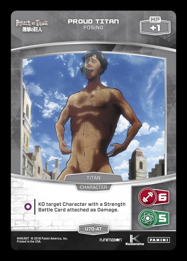 Attack On Titan Checklist Panini Games