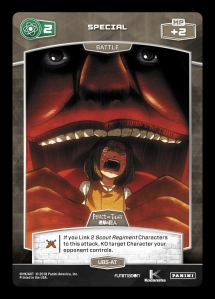 Aot Previews On Wings Of Freedom Panini Games